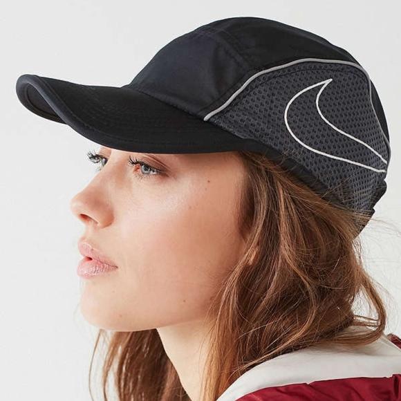 Nike Nylon Running Hat in White 6da61b05a84